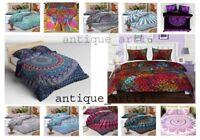 Bedding Set Quilt Duvet Doona Cover King Size Bed Mandala Hippie Gypsy Indian