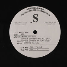 CRYSTAL WATERS: Surprise 12 (test pressing) Soul