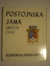 altes Leporello  POSTOJNSKA  JAMA-Grotte Cave -