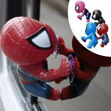 Spider Man action figure car interior decoration window sucker marvel hero free