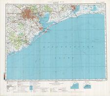 Russian Soviet Military Topographic Maps - HOUSTON (USA), 1;500 000, ed.1982