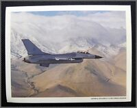 General Dynamics F-16 Fighting Falcon USAF Fighter, 1970's 8x10 Tech Photo