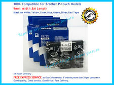 Brother TZ-M921 P-Touch Compatible Black on Silvery Label Tape 9mm 8m TZe-M921