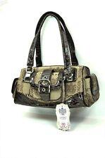 LYDC London Signature Tote/Shoulder Bag 6117 Brown