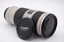 Canon Utrasonic EF 70-200mm f/4.0L IS USM ZOOM LENS
