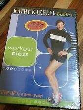 Kathy Kaehler Basics: Step Workout Class (DVD, 2005) (New & Sealed)