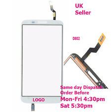 LG G2 D802 D805 Digitizer Touch Screen Glass Panel Replacement White + tools