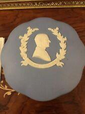 Wedgewood Light Blue Jasper Hrh Duke of Edinburgh box England Trinket Powder