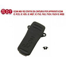 ICOM MB-98 STAFFA DA CINTURA PER APPARATI ICOM IC-R20, IC-V85, IC-M87, IC-F50, F