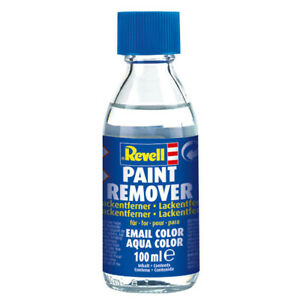 Revell Paint Remover for Email and Aqua Color Paint 100ml Model Builders