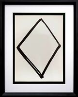 Ellsworth KELLY Lithograph ORIGINAL Diamond Form 1964 LIMITED Ed. w/Custom Frame