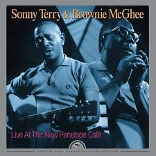 Sonny Terry & Brownie Mcghee Live At The New Penelope Café Vinyl LP New 2016