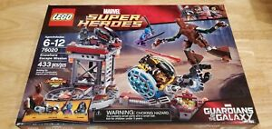 LEGO Guardians of the Galaxy Knowhere Escape Mission 76020 Groot New Sealed