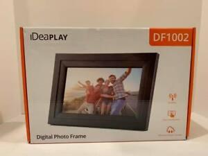"IDEAPLAY DIGITAL PHOTO FRAME DF1002 10.1"""