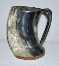Divit Horn ~ Genuine Ox Horn Viking Drinking Mug (30 Oz.) for Beer-Ale-Mead