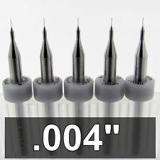 010mm 004 Carbide Drill Bits Five Pieces 18 Shanks Cnc Model Pcb Rs