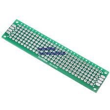 20x80mm Piastra 2,54mm Basetta Millefori a Doppia Faccia Breadboard PCB Arduino