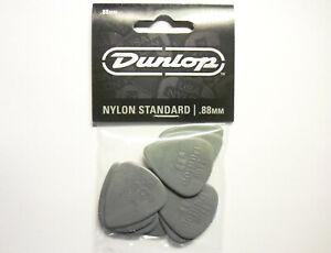 12 Dunlop Nylon Picks Plektren 0,88 mm Plektrum Hang Bag