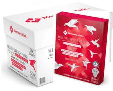Computer Printer Paper Copier Copy Fax Bulk 5000 Sheet 10 Ream Case Carton