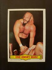"""JESSE """"THE BODY"""" VENTURA 1985 Topps WWF One Angry Man #38"""