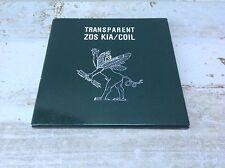 Transparent  Zos Kia / Coil  1st edition cd  Throbbing Gristle / Current 93