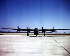 New 8x10 World War II Photo: Newly Completed C-87 Transport Plane in Texas