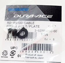 Genuine Shimano Dura Ace RD-R9100 Rear Derailleur Cable Fixing Bolt & Plate