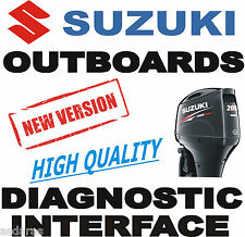 Professional NEW SUZUKI Outboard boat diagnostic kit cable interface USB SDS