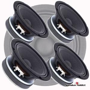 "4-Pack Peavey 6.5 inch 8ohm 150 watt Pro Audio Woofer Midrange Midbass 1.5"" VC"