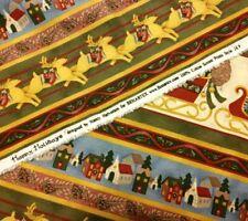 """Happy Holidays by Nancy Halvorsen Style 387 Benartex 2+ Yards (75"""" L x 44"""" W)"""