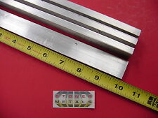 "4 Pieces 3/8"" X 1"" ALUMINUM 6061 FLAT BAR 10"" long .375"" Solid New Mill Stock"