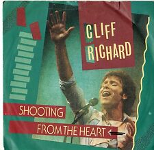 """Cliff Richard - Shooting From The Heart 7"""" Single 1984"""