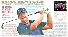 COVERSCAPE computer designed 65th of the birth of PGA legend Tom Watson cover