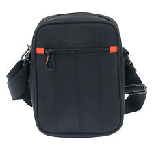 Davidt's - Small Black Messenger/Body Bag from The Chase Collection