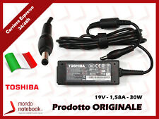Alimentatore Originale TOSHIBA Mini AC100 AC100-10U AC100-10Z 30W 19V 1,58A