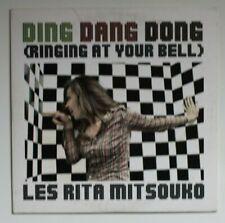 LES RITA MITSOUKO : DING DANG DONG ♦ Promo CD Single ♦