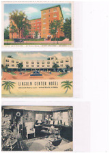 Lot of 8 vintage Restaurants and Hotels as one lot