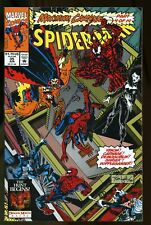 SPIDER-MAN #35 NEAR MINT 9.4 MAXIMUM CARNAGE PART 4 1993 MARVEL COMICS