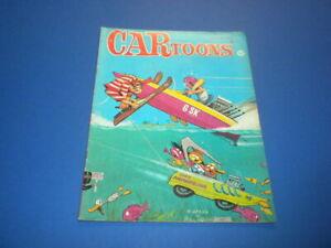CARTOONS magazine 1968 August - Petersen Publishing - HOT ROD RACING CAR TOONS