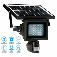 Waterproof Outdoor Solar Powered Infrared Night Vision Security DVR Camera