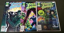 GREEN HORNET 1 SIGNED 2 and 3 NOW COMIC RUN SET 1 2 3 TOTAL