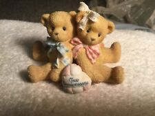 Cherished Teddies You Grow More Dear With Each Passing Year Anniversary Figurine
