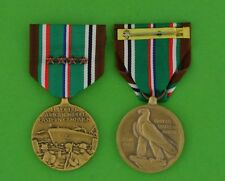 European African Middle Eastern Campaign Medal with 4 Campaign Stars Eto Theater