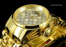 Invicta 40MM Women's Bolt ZEUS Swiss AUTOMATIC M.O.P Dial All Gold Tone Watch