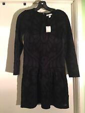 $495Burberry'Mini Karin' Drop Waist Sweater Dress (Little Girls & Big Girls) 12y
