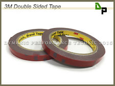 Two Rolls - 3M Double Sided Acrylic Foam Adhesive Tape(L: 3m x W: 10mm x D: 1mm)