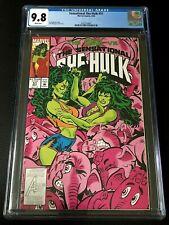 1993 Marvel Comics Sensational She-Hulk #51 CGC 9.8 NM/MT WHITE PAGES POP 8