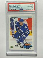 2010 NAZEM KADRI Upper Deck 10th Anniv. Young Guns NHL RC Rookie Card PSA 10 GEM