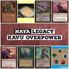 mtg Naya Kavu Legacy Overpower deck Magic the Gathering rares Monarch, Radiant