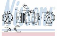 NISSENS Compresseur de climatisation pour FORD C-MAX KUGA 89143 - Mister Auto